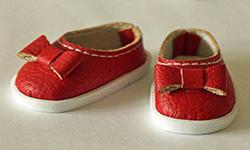 给娃娃制作小皮鞋。图文教程,一秒学会!