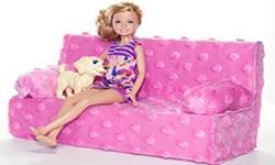 如何给芭比娃娃自制家具?手工制作芭比娃娃的沙发制作教程图解