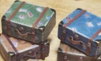 娃娃装饰旅行箱,明国风情旅行箱制作教程