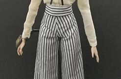 卡娃衣――娃衣制作,阔腿裤,大裤脚,霸气女总裁