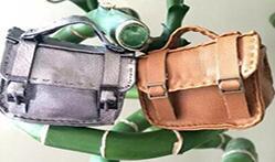 娃娃迷你手提皮包的制作图解,皮制品哦