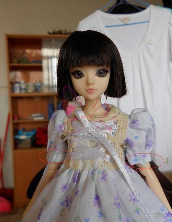 娃衣泡泡袖