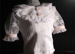 娃衣衬衣制作教程,华丽不可而语!