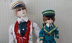 酷酷的娃娃用的小军帽制作教程。