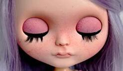 给娃娃画上小雀斑,3种方法总有一种适合你。