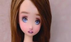 [视频]OB娃娃化妆教程,可爱妆。