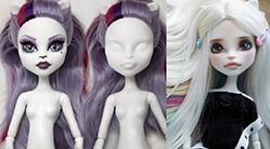 [视频]怪高娃娃改妆化妆教程,怪高也不可怕
