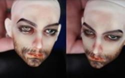 bjd娃娃颓废大叔妆,男娃化妆。