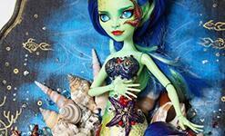 娃娃身体改成维纳斯人鱼教程――进阶教学。