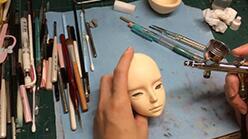 娃娃改妆,喷枪使用时候注意的细节。