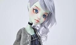 怪物高中,怪高娃娃头发制作教程,小太妹!