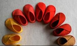 可儿娃娃,bjd娃娃,丽佳娃娃,简单的小鞋子制作教程。