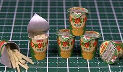 迷你薯条制作――迷你食物制作教程视频