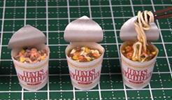 迷你面条制作――迷你食物制作教程视频