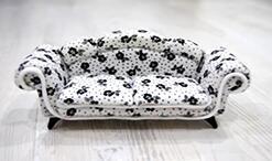 迷你欧式沙发,迷你客厅沙发,迷你家具制作教程