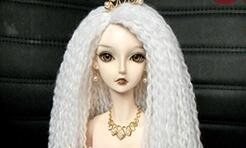 [精]很详细的图文步骤教你用毛线制作漂亮的娃娃假发