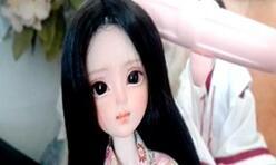 2元的娃娃头改妆,化妆一个妆面多个效果,一起来改娃娃吧