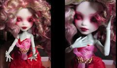 怪物高中娃娃,怪高整体改造+造型,妆,发,衣服全部~