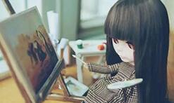 给小布娃娃制作一个文艺的可伸缩画架,手工木制品