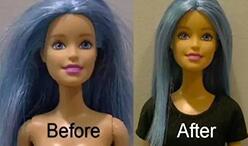 娃娘如何护理娃娃的头发?