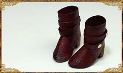 再也不用花钱给六分娃买鞋子,这双迷你英伦马丁靴自己就可以做!