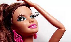 原来给怪高娃娃贴假睫毛这么简单!有娃娃的快学起