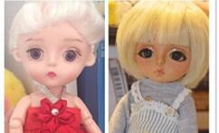 国产巴宝莉娃娃变日烧肤色bjd娃娃树脂质感全攻略
