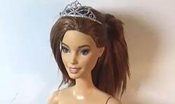 DIY,原来用粘土也可以给芭比娃娃做皇冠!有娃娃的都学习一下吧!