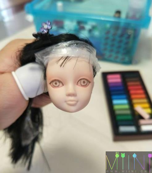 娃娃改妆教程
