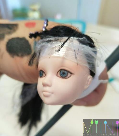 可儿娃娃改妆