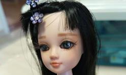 可儿娃娃改妆,化妆教程,新手也能学会。画出来很漂亮