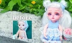 巴宝莉娃娃改妆夏日风小可爱,真的卡哇伊!