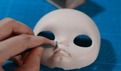 blythe,小布娃娃,改脸壳,磨脸壳新手教程。