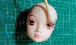 可儿娃娃卸妆所需材料,如何给胶皮娃娃卸妆,新手教程。