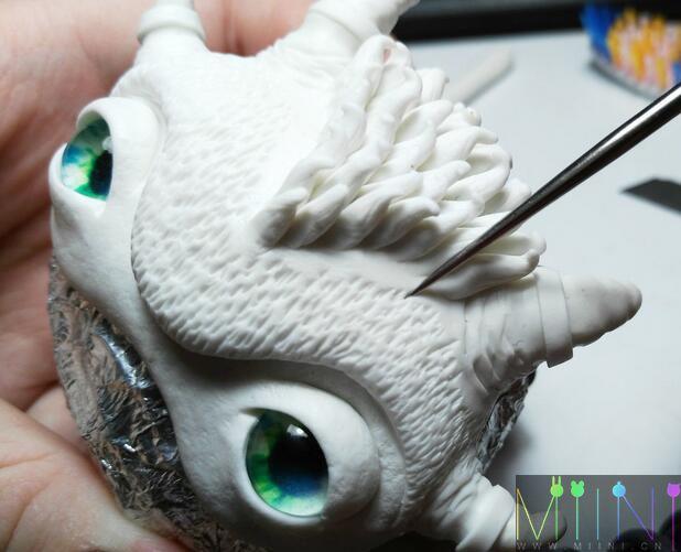粘土制作娃头