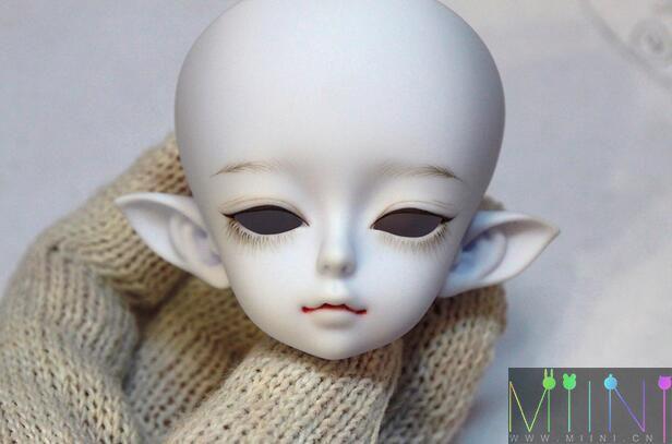 bjd娃娃精灵化妆
