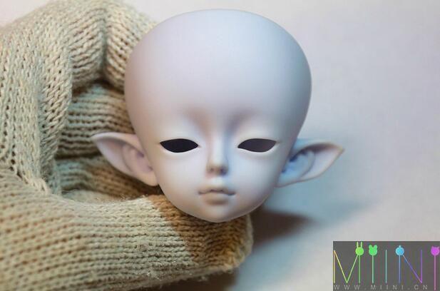 bjd精灵娃娃化妆