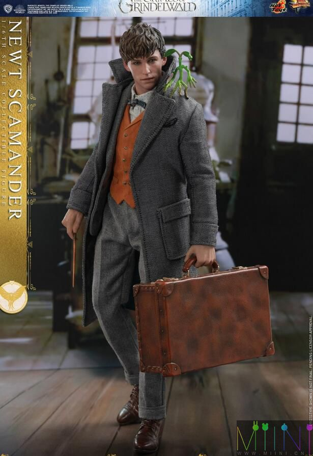 兵人娃娃《神奇动物2》纽特.斯卡曼德