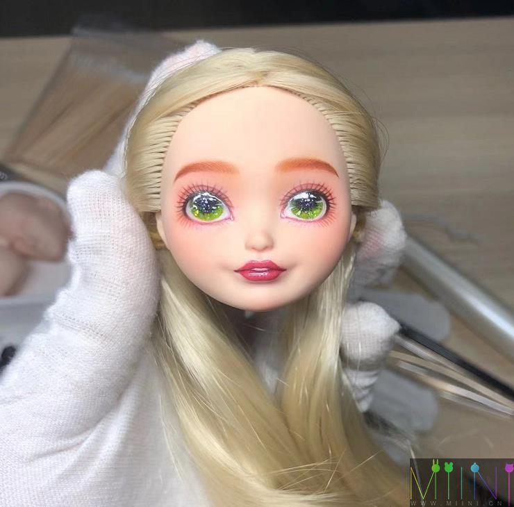 """壮士""""半夏_微凉0""""娃娃美妆展示"""