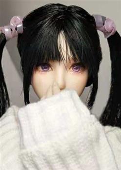 """妆师""""嚼嚼""""娃娃改妆化妆展示"""