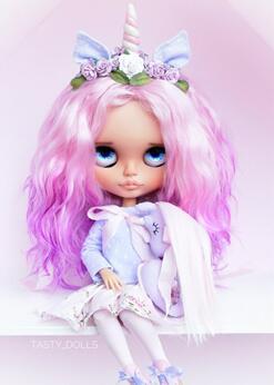 "Blythe娃娃""独角兽""美妆分享"