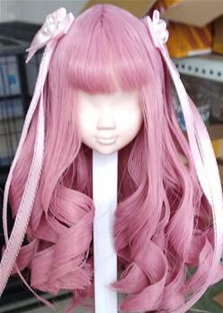 """发型师""""红哚哚""""娃娃假发展示,可接定制哦~"""