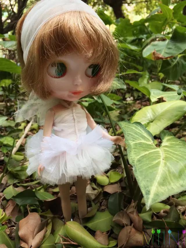 小布娃娃芭蕾裙