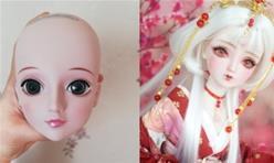 [娃娃改妆教程]把国产叶罗丽娃娃改妆成和风娃娃