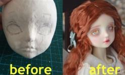 [bjd娃娃自制]从泥巴到bjd成品娃娃需要几个步骤?