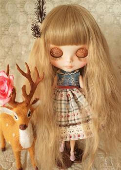 Blythe娃娃,小布娃娃《Juju99》改妆美妆展示