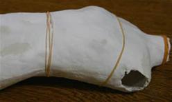 [肆]日本aimi的bjd娃娃自制教程-去除泡沫芯体