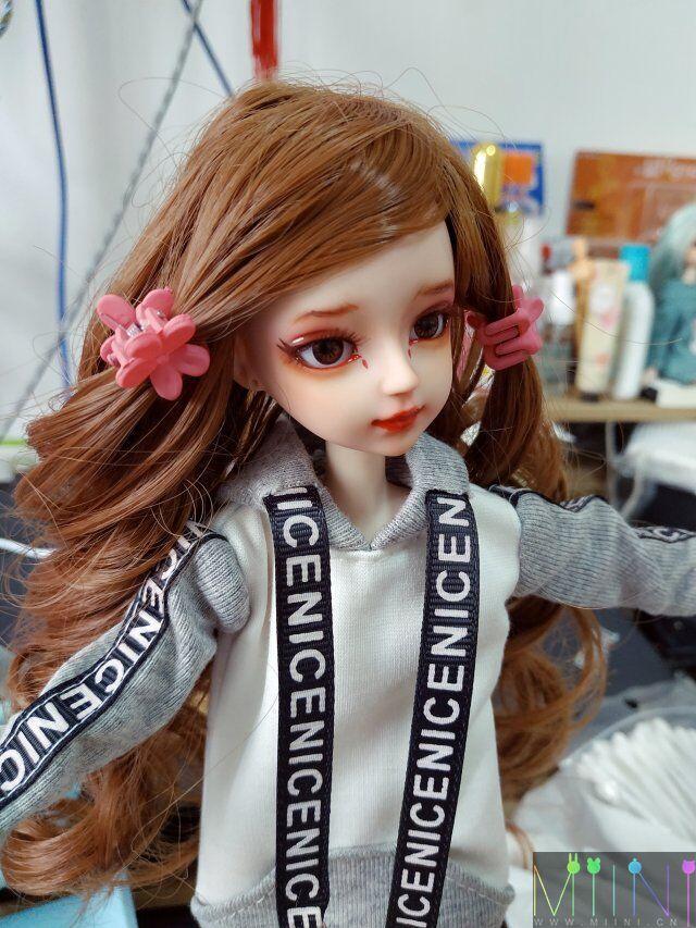 《往日的负担》娃娃改妆化妆,娃娃美图展示