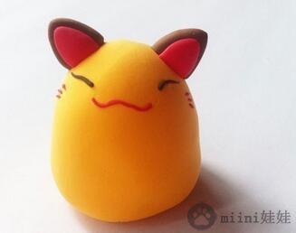 粘土制作招财猫