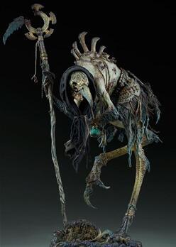 兵人娃娃,死亡法庭系列 - 天灾军团 Poxxil PF雕像